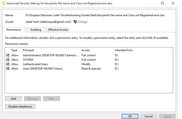 How to fix security certificate error windows 10