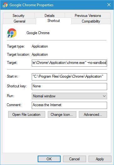 Chrome Unresponsive in Windows 10