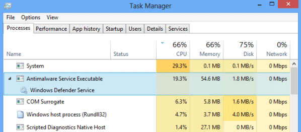 MsMpEng exe is Making Windows 10 Very Slow