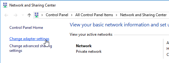Speed Up Network Sharing in Windows 10